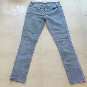 Grey corduroy pants